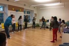 Vorstellung Tanzbeginn in Runde