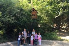 Abenteuerpark-Gruppenfoto-