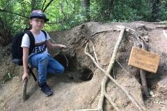 David-vor-Höhle