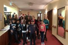Besuch Akademietheater Gruppenfoto 2
