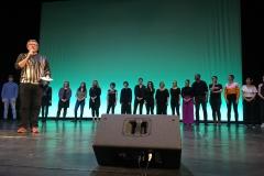 Gruppe auf Bühne