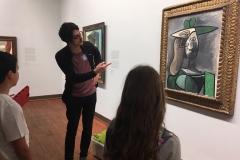 Picasso-Matthias-vor-Bild