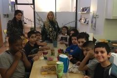 Gruppe beim Essen