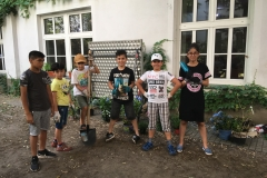 Gruppe Garten