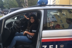 Selinay Polizeiauto