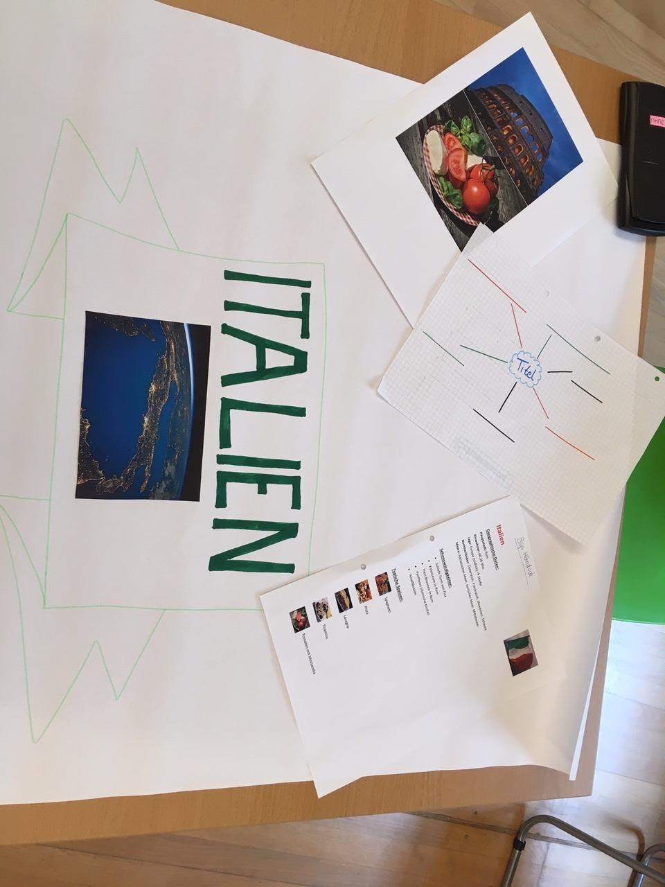 Italien-Folien