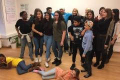 Gruppe Tanzprojekt SE-Fest