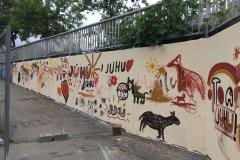 Fertige-Wand